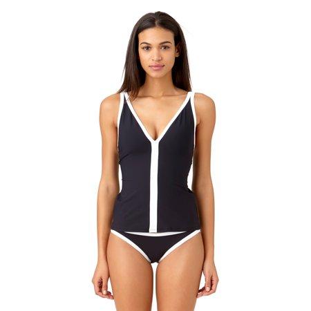 - Studio Anne Cole Women's Beach Bound Solid Hipster Bikini Swim Bottom