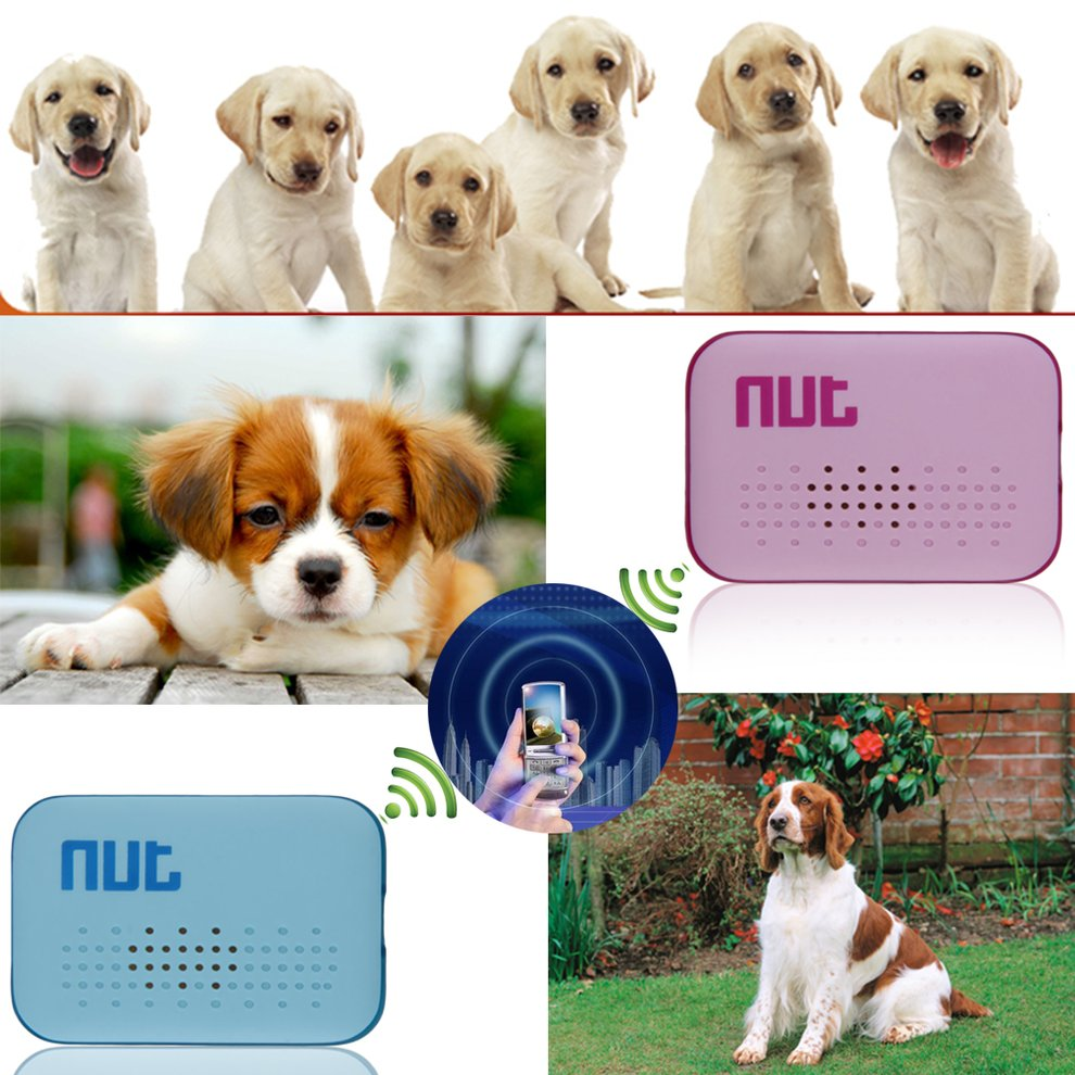 Bluetooth Tracer GPS Locator Alarm Key Pet Dog Anti-lost Finder Tracker