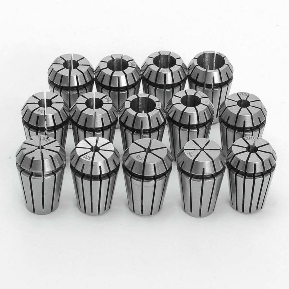 ER11,ER16,ER20,ER25,ER32 Spring Collet Set CNC Milling Boring Machine Lathe-Tool