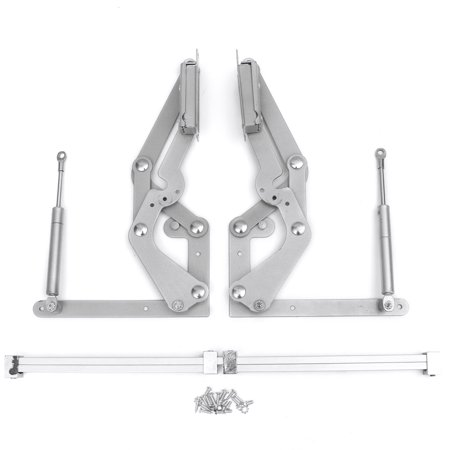 2 Cabinet Door Vertical Swing Lift Up Stay Pneumatic Arm Mechanism