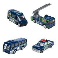 Forever Collectibles - 4 Pack Die Cast Cars, Seattle Seahawks