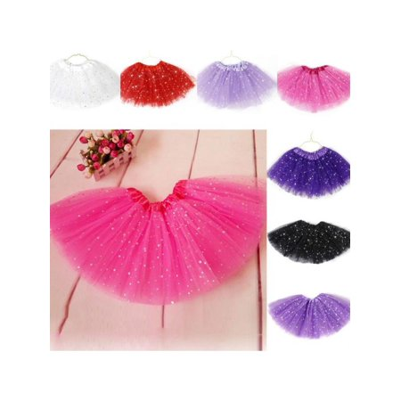 SunshineLLC Princess Tutu Skirt Girls Kids Party Ballet Dance Wear Dress Pettiskirt Clothes 2-7Y