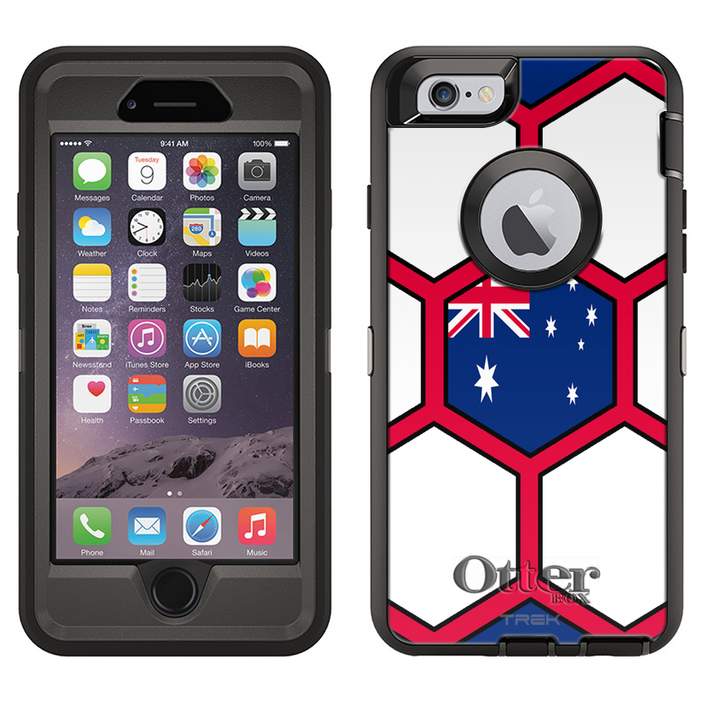 OtterBox Defender Apple iPhone 6 Plus Case - Soccer Ball ...