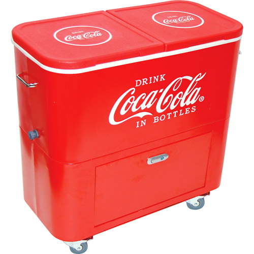 Coca Cola Double Stack Red Large Cooler Model 904011