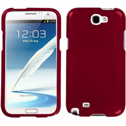 Samsung N7100 Galaxy Note 2 MyBat Phone Protector Cover, Solid Red