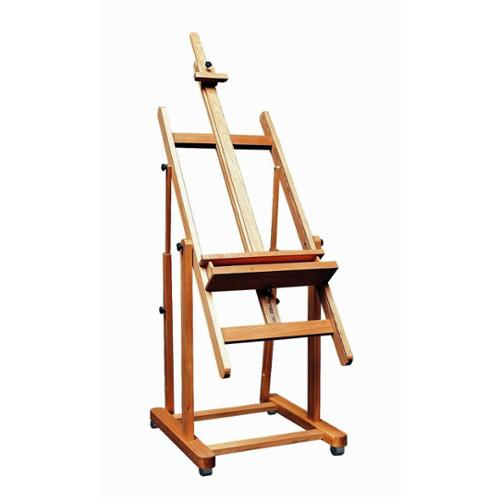 Martin Universal Design Weber Monster Amalfi Brown Wooden Adjustable Studio Artist Easel
