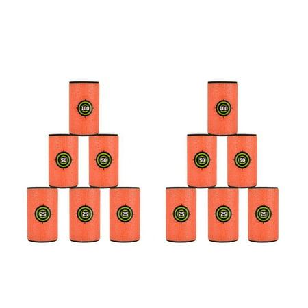 Large Size Eva Soft Bullet Targets For Nerf N Strike Elite Series Blasters Kids Toy Game   12 Pcs
