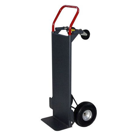 Milwaukee Convertible Hand Truck With Solid Steel Deck
