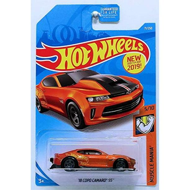hot wheels 18 camaro ss 2019