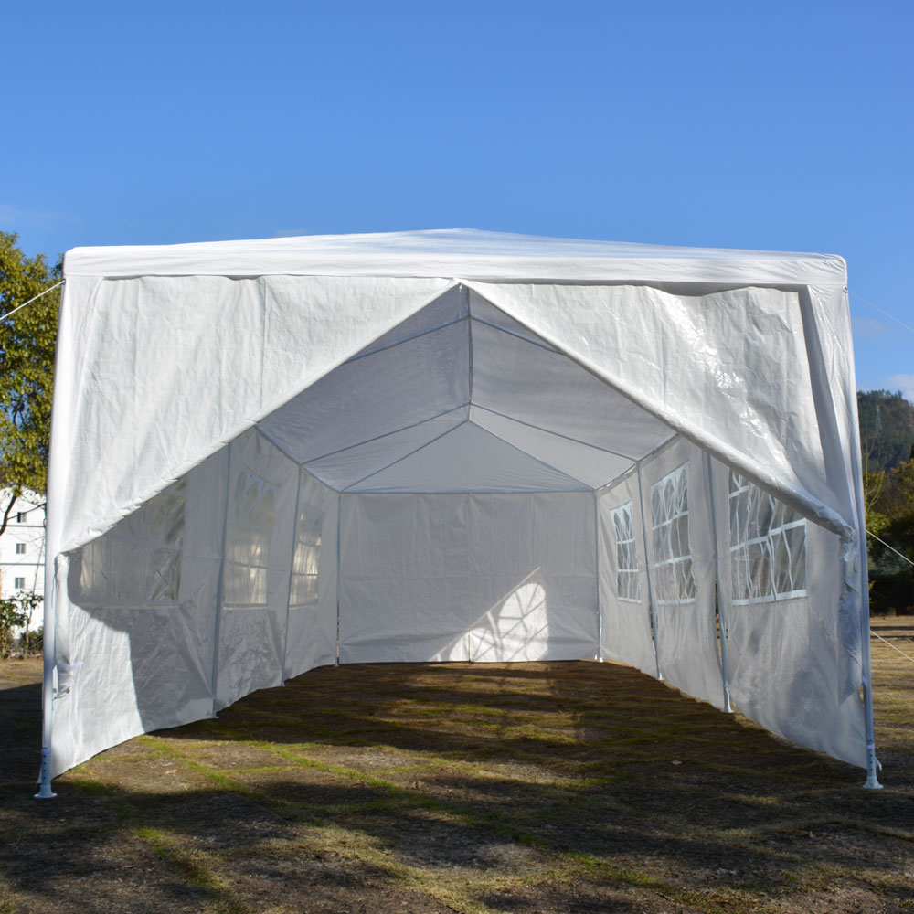Zimtown 10u0027x 30u0027 Third generation Heavy duty Gazebo Canopy Outdoor Party Wedding Tent - Walmart.com : heavy duty gazebo canopy - afamca.org