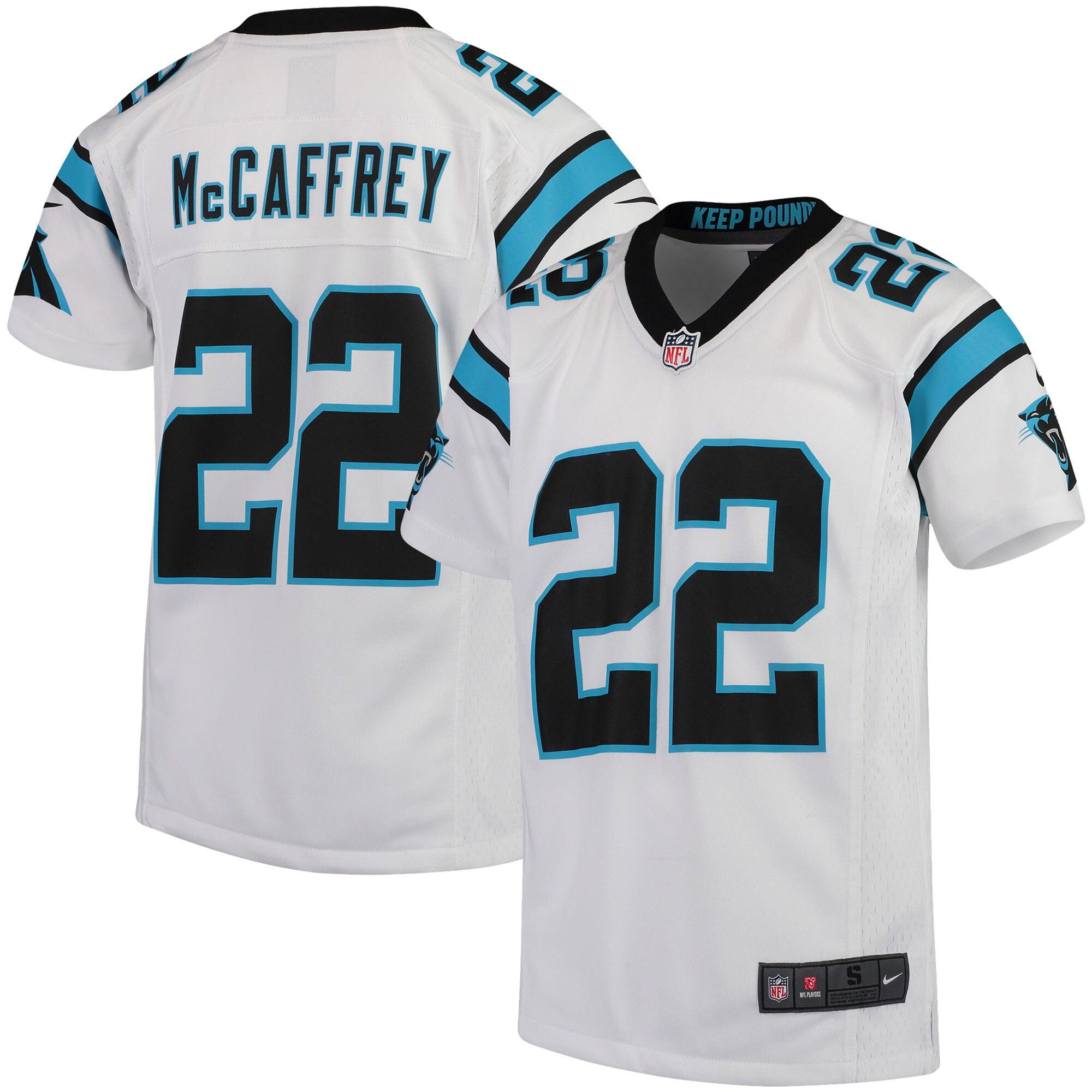 Christian McCaffrey Carolina Panthers Game Jersey Camo