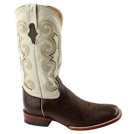 Ferrini Western Boots Mens Cowboy Smooth Ostrich Kango