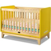 Zutano Tivoli Fixed-Side Convertible Crib, Sunny/Natural