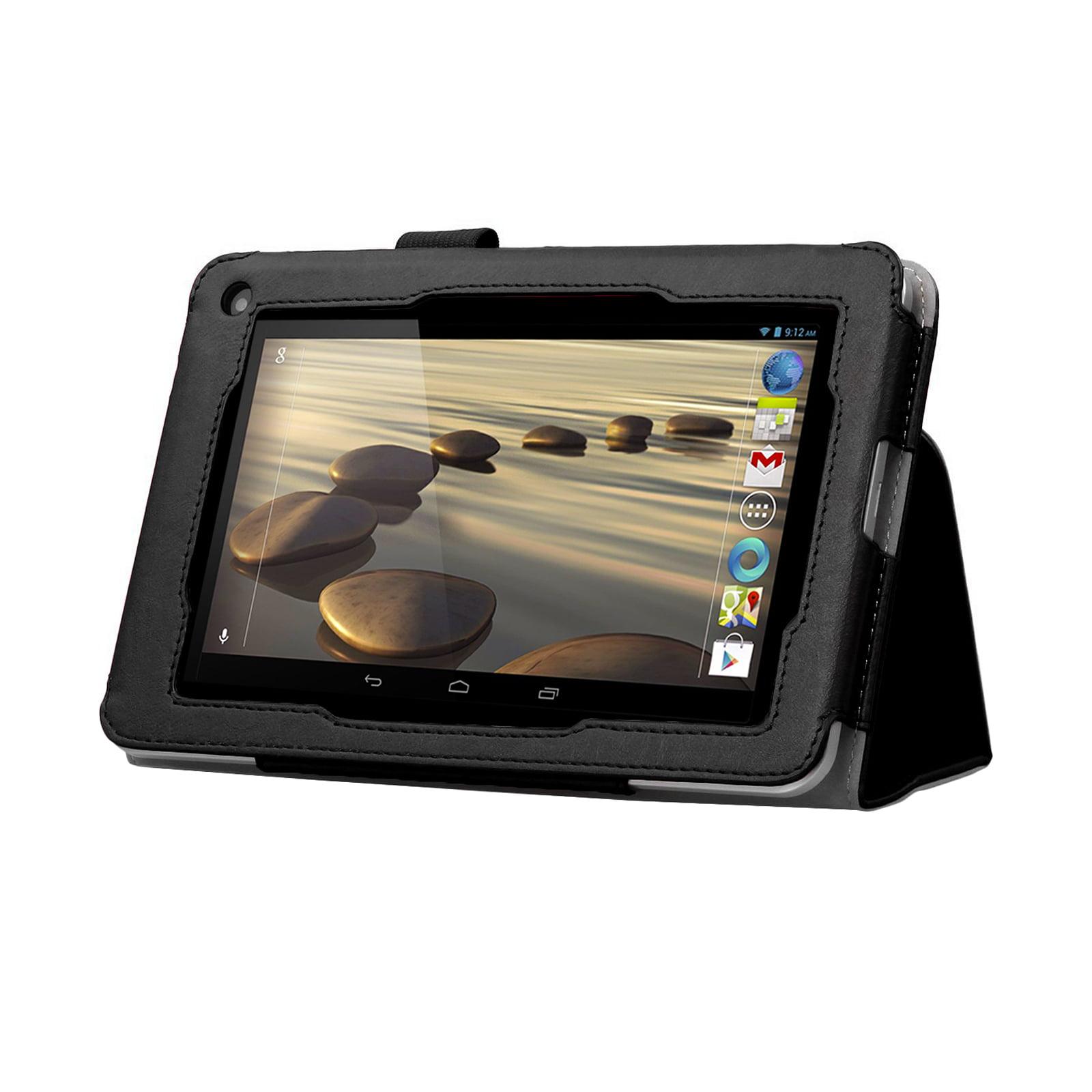 Black Double-Fold Folio Case for Acer Iconia B1-710 (86309)