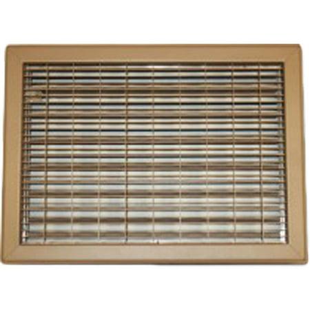 Driftwood Series (12X12 Driftwood Tan Vent Cover (Steel) – Shoemaker 1550 Series)