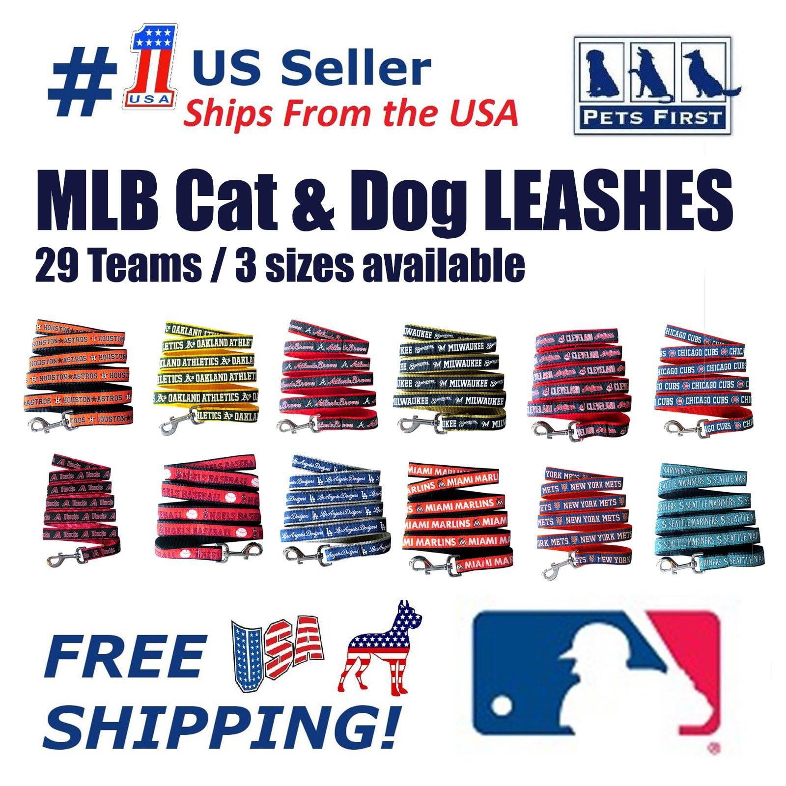 Pets First MLB Colorado Rockies Pet Dog Leash