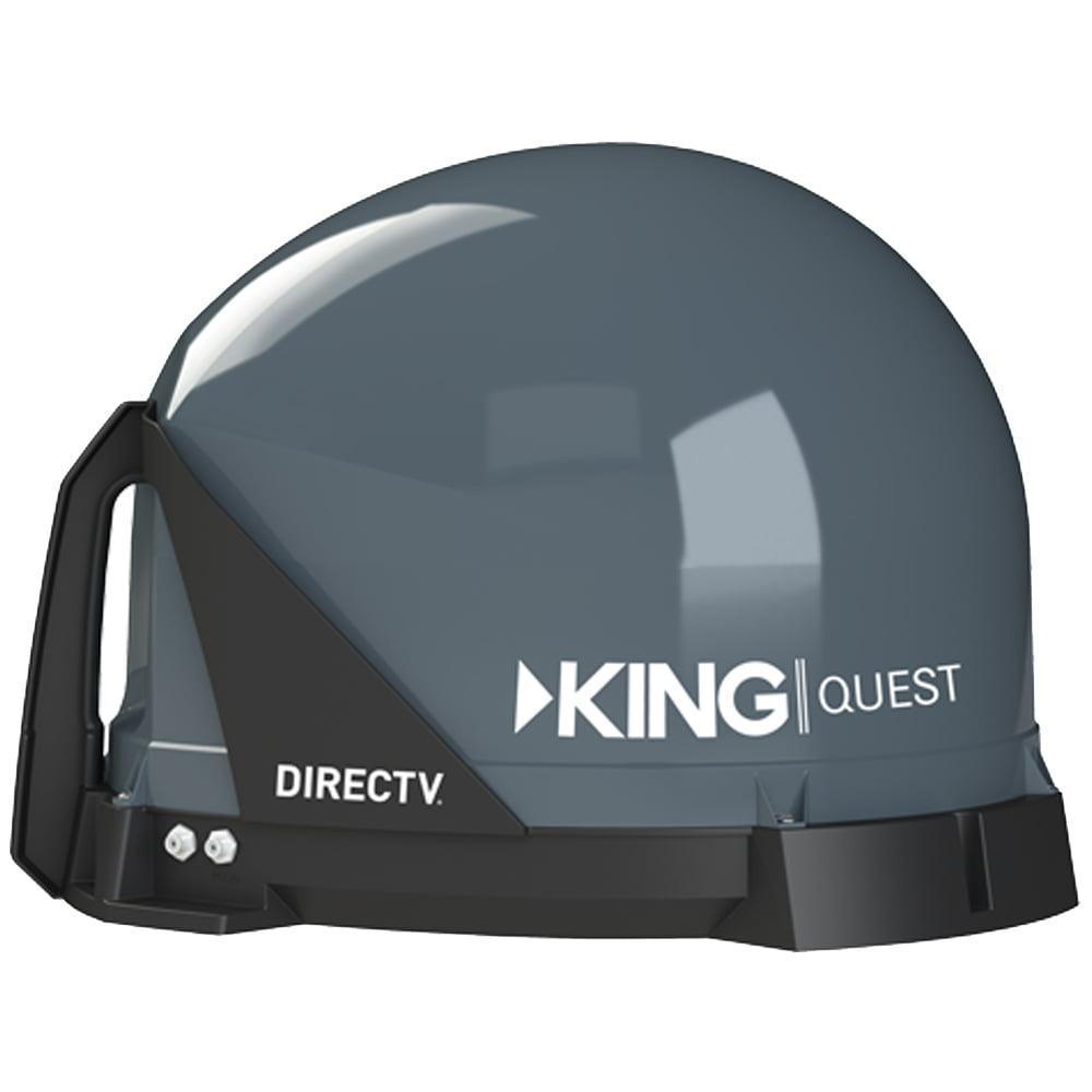 King Controls VQ4100 Quest Portable Satellite TV Antenna