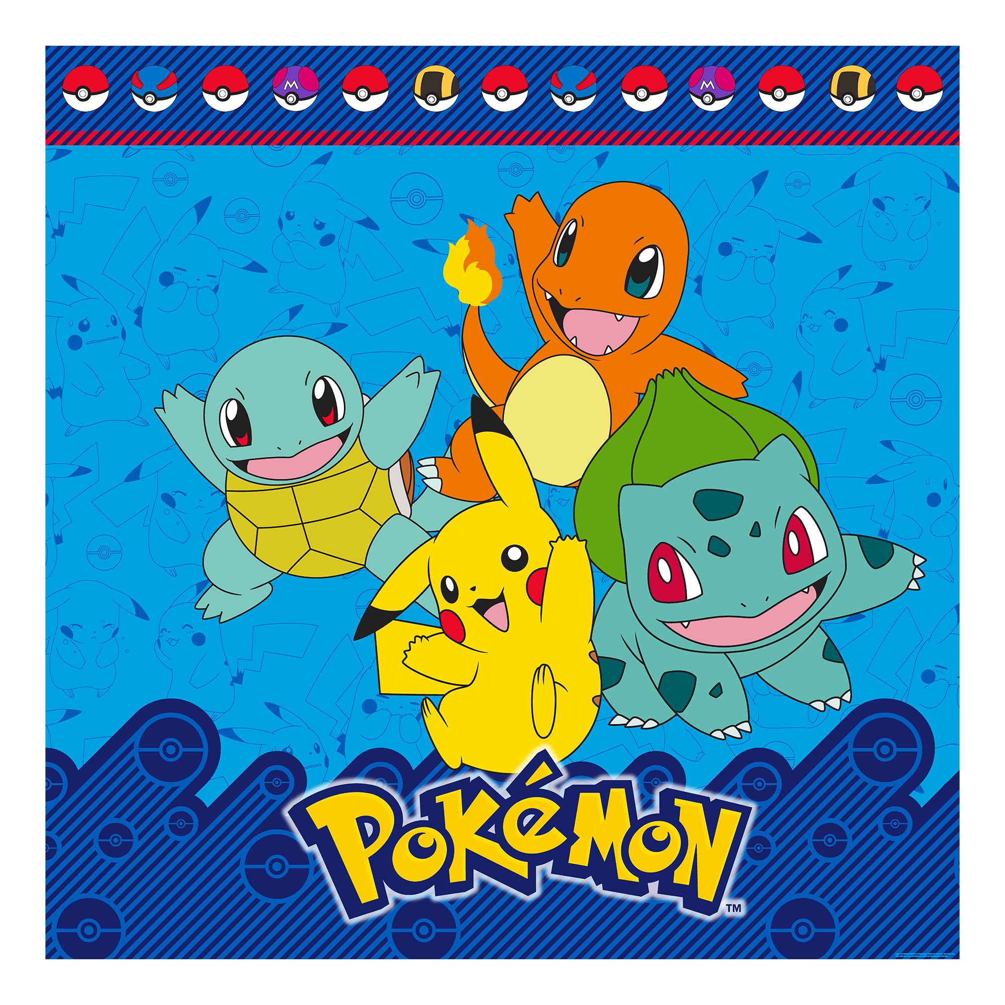 "Pokemon ""I Choose You"" Shower Curtain, 1 Each"
