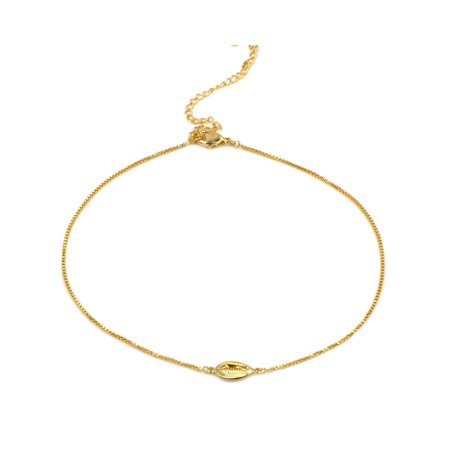 Cowrie shell Gold Filled Choker - Cowry Shell
