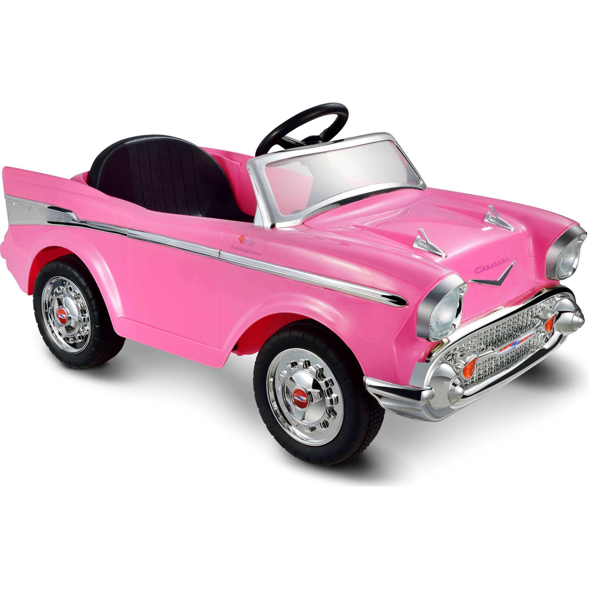 Kid Motorz Chevy Bel Air 12-Volt Battery-Powered Ride-On, Pink