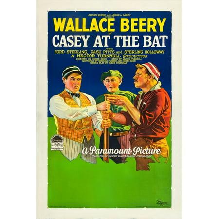 Casey At The Bat Canvas Art     11 X 17