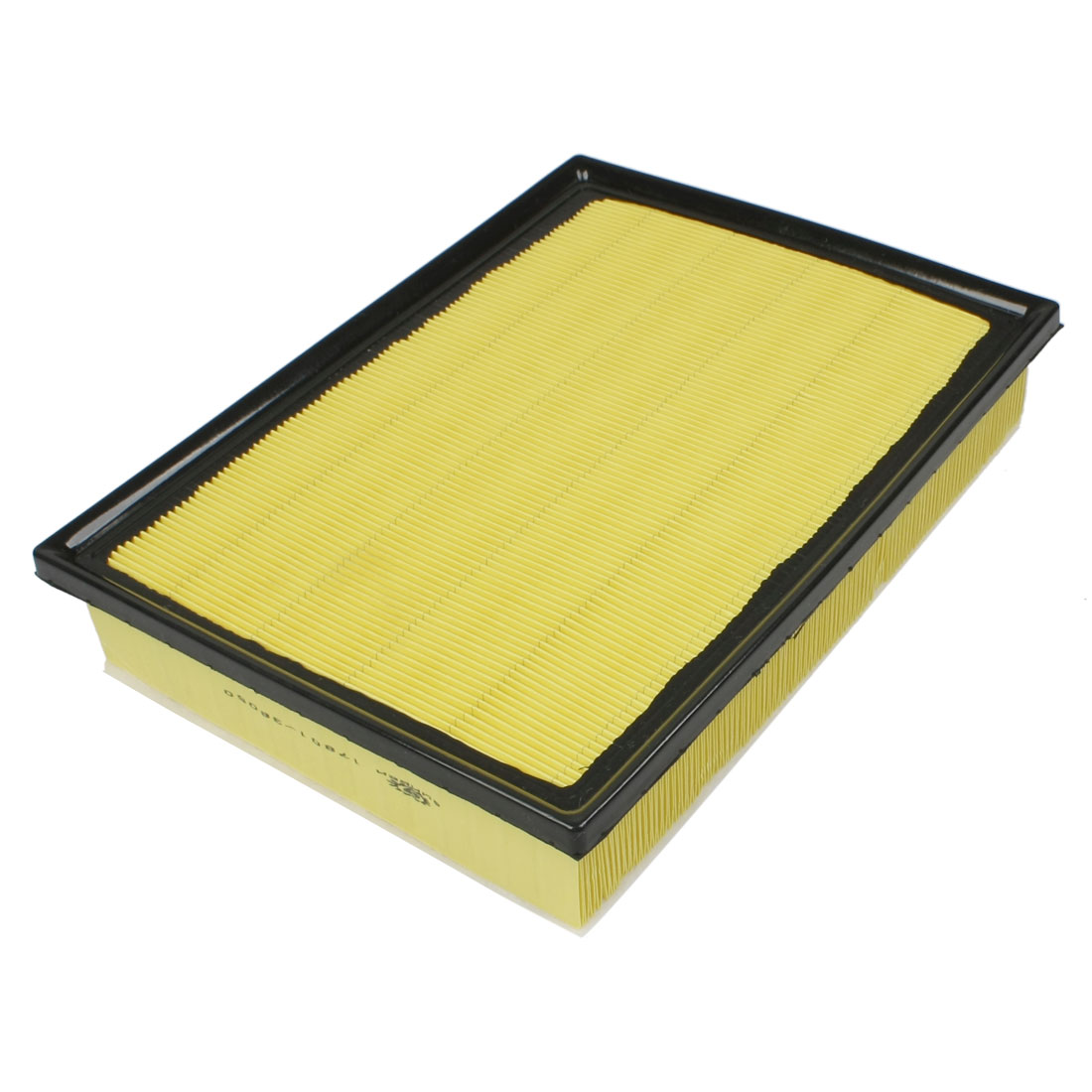Replacement Vehicle Car Auto Engine Air Filter Black Yellow 17801-38050