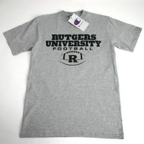 Rutgers Scarlet Knights University Football T-shirt - Oxford