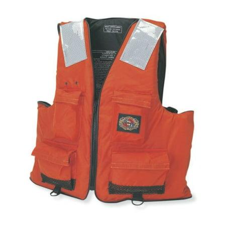 Stearns I422 First Mate Vest - Extra Extra Large [xxl] Size - 15.50 Lb Minimum Buoyancy - Foam - Orange (2000011406)
