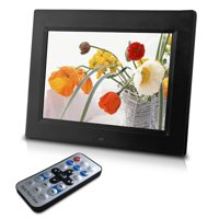 "Sungale CD802 8"" Digital Photo Frame - Black"