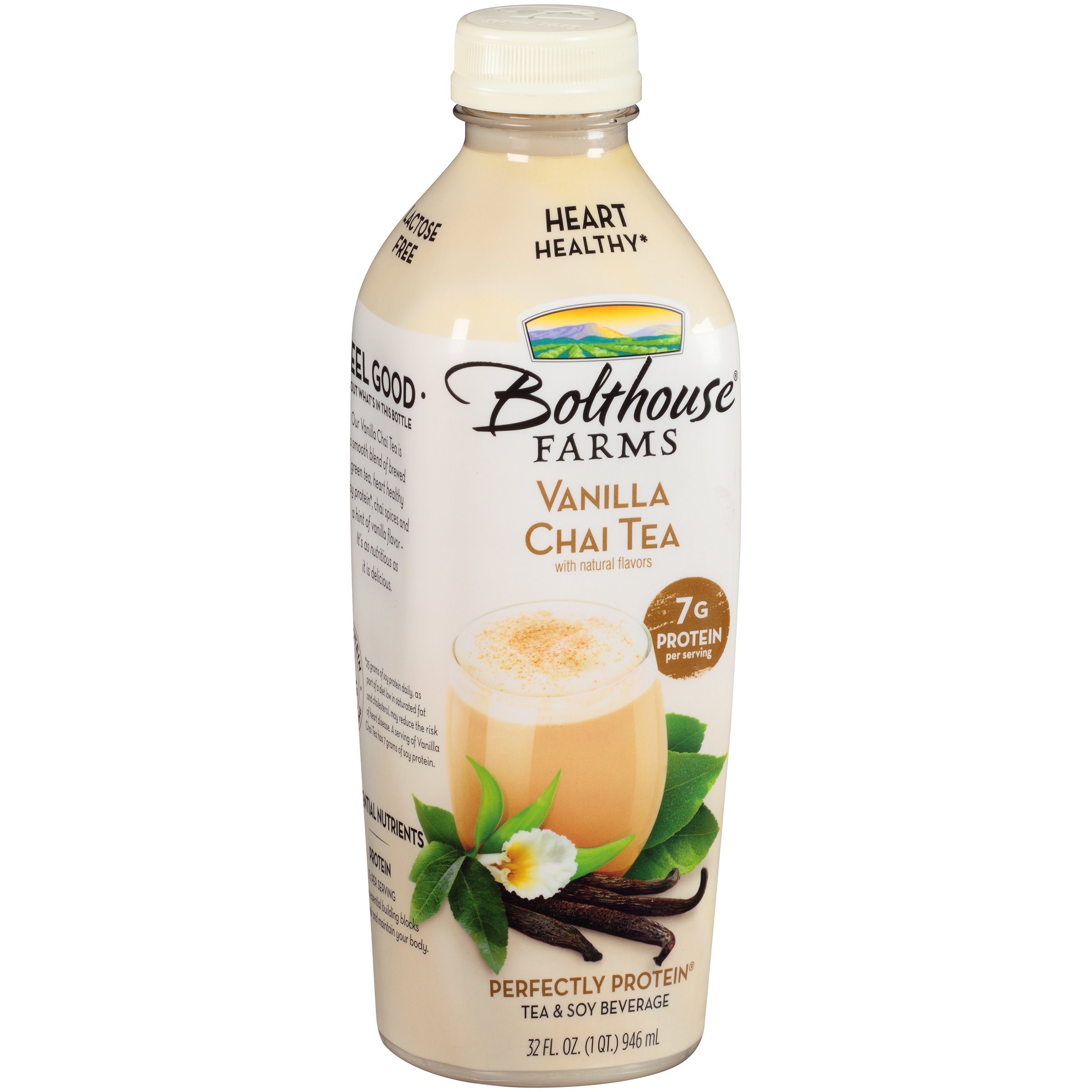Bolthouse Farms Perfectly Protein Vanilla Chai Tea & Soy Beverage 32 fl. oz. Bottle