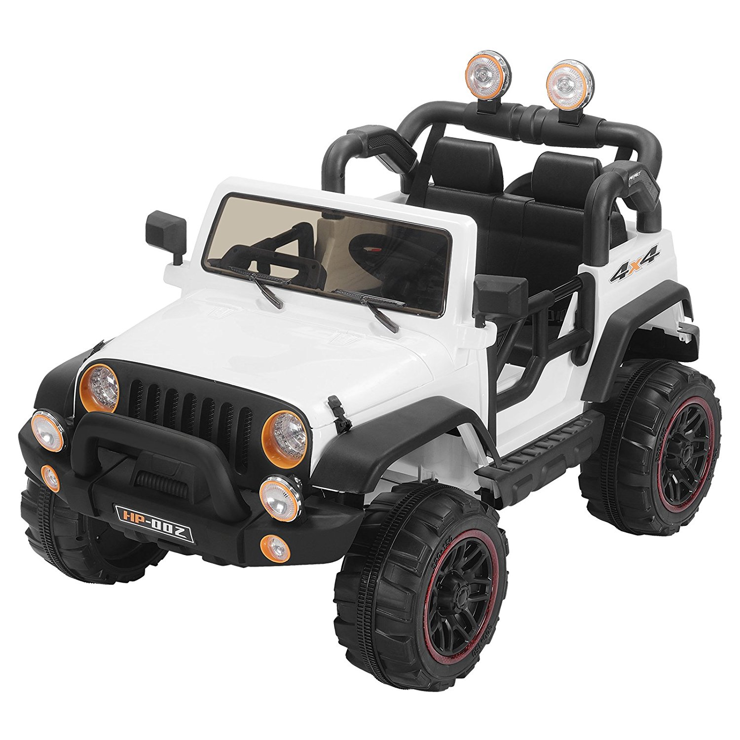 Uenjoy Kids Power Wheels 12V Electric Ride on Cars with Remote Control 2 Speed White