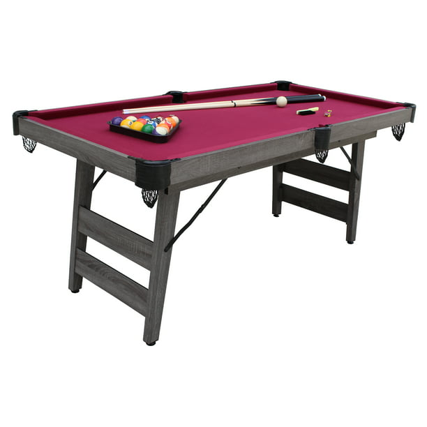 Hathaway 6 Ft Pendleton Portable Pool Table Com - How Much Room Do You Need For A 6 Foot Pool Table