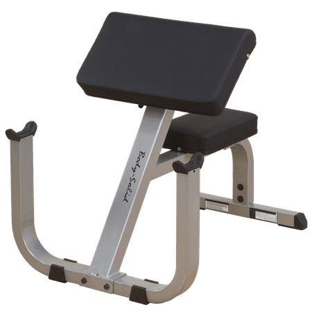 Body Solid GPCB329 Preacher Curl Bench