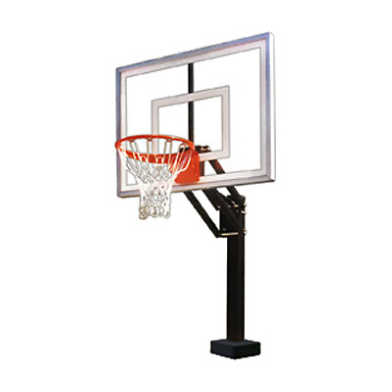 First Team HydroChamp Adjustable Poolside Basketball System by First Team Sports Inc