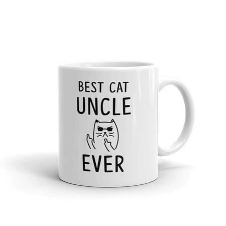 Best Cat Uncle Ever Rude Coffee Tea Ceramic Mug Office Work Cup Gift 11