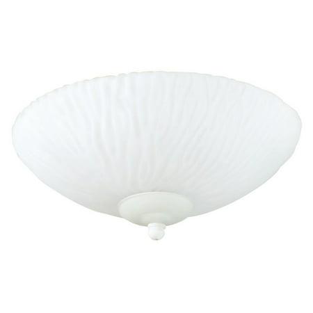 - Craftmade LKE35F-CFL 2-Light Elegance Bowl Fan Light Kit