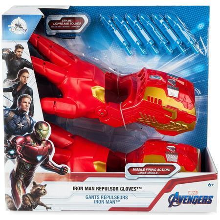 Marvel Avengers Infinity War Iron Man Repulsor Gloves [2019]](Iron Man Gloves For Kids)
