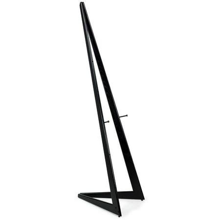 Displays2go  Bi-Fold Adjustable Wood Easel, Quick Set Up, Free-Standing Display Easel, 64
