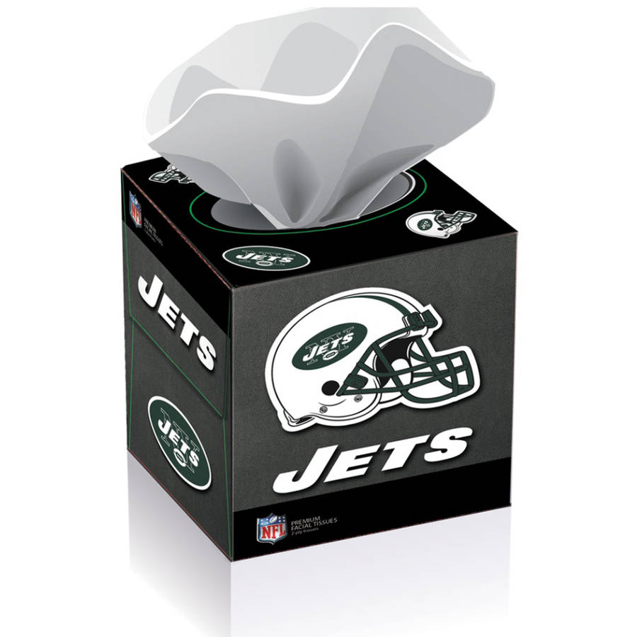 NFL New York Jets Tissue Boxes