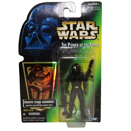 Hasbro Green - Star Wars: Power of the Force Green Card Death Star Gunner Action Figure, Star Wars: Power of the Force 3/4 green card with hologram action figure.., By Hasbro