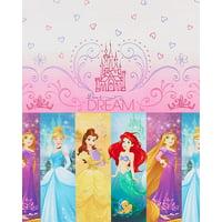 "Disney Princess Plastic Table Cover 54"" x 96"""
