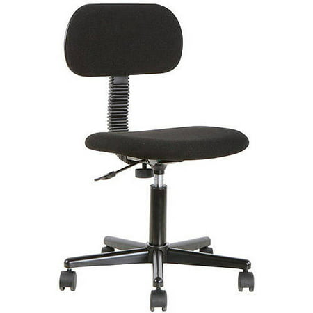 Mainstays Fabric Task Chair Black Walmart Com