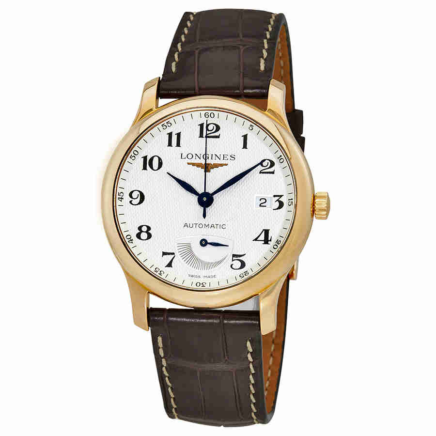 Longines Master Collection Mens 18 Carat Rose Gold Watch ...
