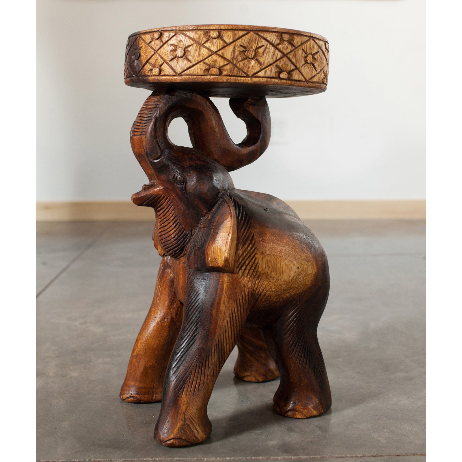 Strata Furniture Elephant Accent Table