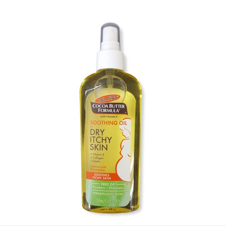 2 Pack Palmers Cocoa Butter Soothing Oil For Dry Skin Pregnancy Marks 5.1oz