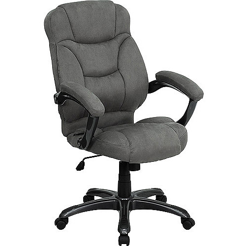 microfiber high-back office chair, multiple colors - walmart