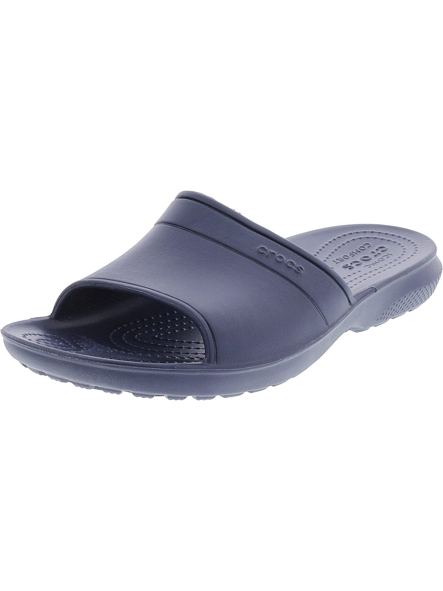 0cecfb66178f0e Crocs Classic Slide Navy Low Top Rubber Sandal - 8M   6M