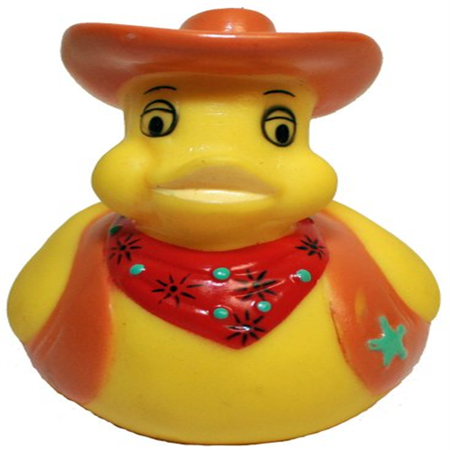 Rubber Ducks Family Cowboy Rubber Duck, Waddlers Brand Bathtub Toy Rubber Ducks That Float Upright, Health & Personal Care & Party Supplies Rubber Duck Gift, All Depts. Western Themed Cowboy Dressed U