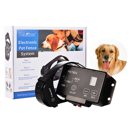 Pet Dog Remote Training Collar Charging Waterproof Electronic Fence