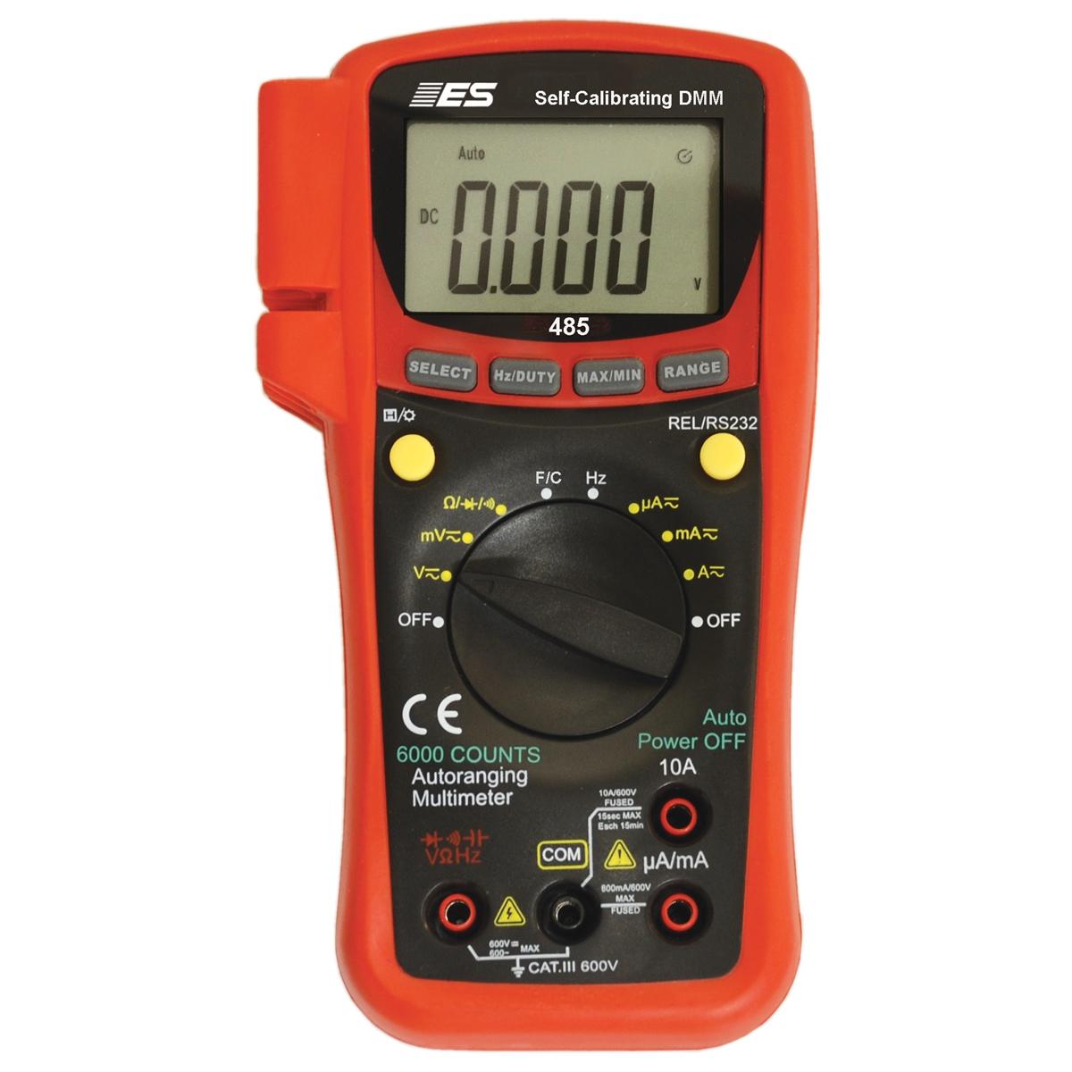 Self Calibrating True Rms Multimeter